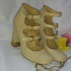 Chloe Cream Heels